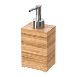 DRAGAN - Soap dispenser, bamboo