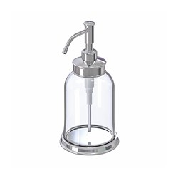 BALUNGEN - Soap dispenser, chrome-plated