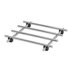 LÄMPLIG - Pot stand, stainless steel