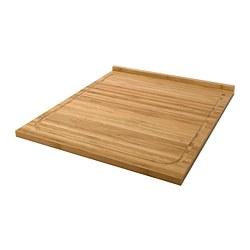 LÄMPLIG - Chopping board, bamboo