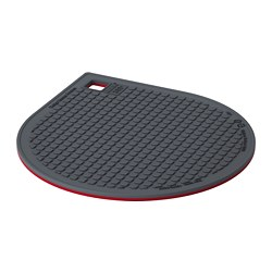 IKEA 365+ GUNSTIG - Pot stand, magnetic, red/dark grey
