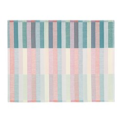 MITTBIT - Place mat, pink turquoise/light green