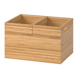 DRAGAN - Box, set of 3, bamboo