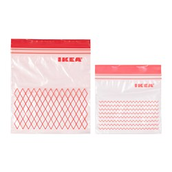 ISTAD - ISTAD, resealable bag, red