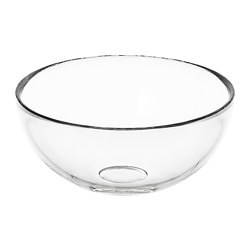 BLANDA - Serving bowl, clear glass
