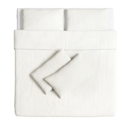 ÄNGSLILJA sarung quilt dan 4 sarung bantal