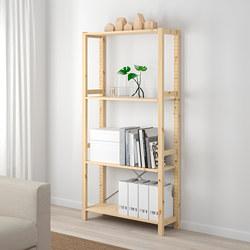 IVAR - 1 bagian/rak, kayu pinus