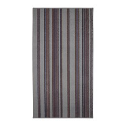 KALDRED - KALDRED, karpet, bulu tipis, garis-garis, 80x150 cm