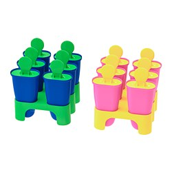CHOSIGT - Ice lolly maker, assorted colours