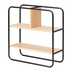 HEDEKAS - Rak utk pameran, segi empat/bambu