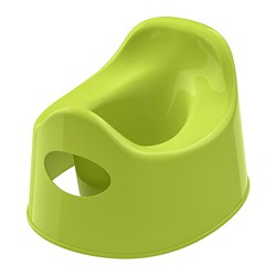 LILLA - Children's potty, green