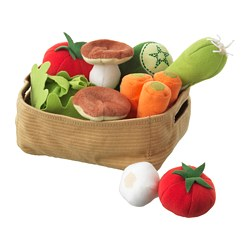 DUKTIG - 14-piece vegetables set