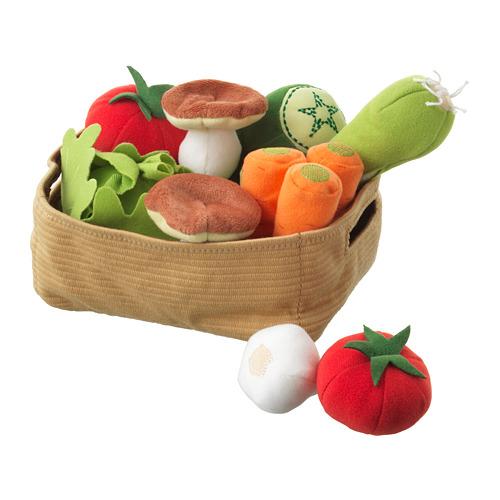 DUKTIG set 14 keping sayur-sayuran