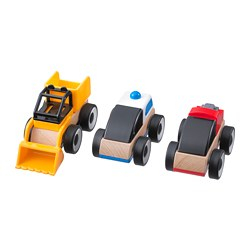 LILLABO - Toy vehicle, mixed colours