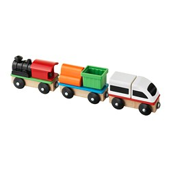 LILLABO - 3-piece train set