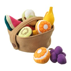 DUKTIG - 9-piece fruit basket set
