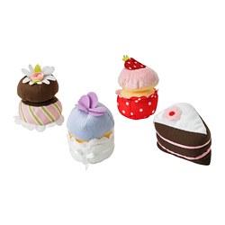 DUKTIG - 4-piece cupcake set