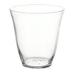 FRAMTRÄDA - Glass, clear glass
