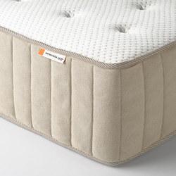 VATNESTRÖM - Pocket sprung mattress, extra firm/natural