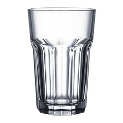 POKAL - Glass, clear glass