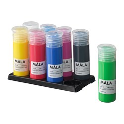 MÅLA - Paint, mixed colours