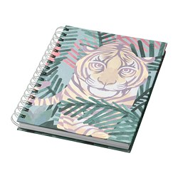 ILLBATTING - Buku tulis, aneka warna/harimau