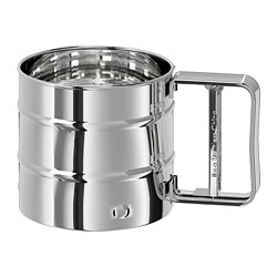 IDEALISK - Flour sifter, stainless steel