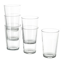 IKEA 365+ - Glass, clear glass