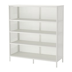 BEKANT - Shelving unit, white