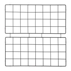BARSÖ - Terali, pola kotak-kotak/hitam