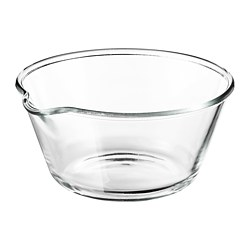 VARDAGEN - Bowl, clear glass