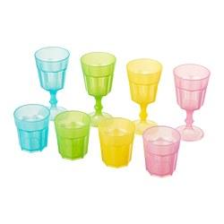 DUKTIG - DUKTIG, gelas, aneka warna