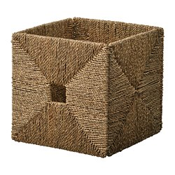 KNIPSA - Basket, seagrass
