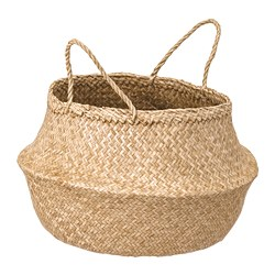 FLÅDIS - Basket, seagrass
