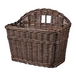GABBIG - Basket, dark brown