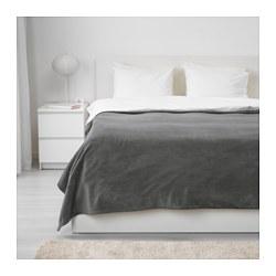 TRATTVIVA - Penutup tempat tidur , abu-abu