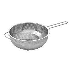 IDEALISK - Colander, stainless steel