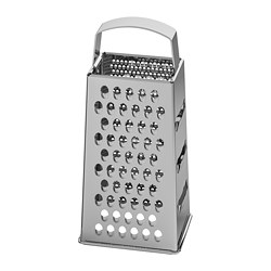 IDEALISK - Grater, stainless steel