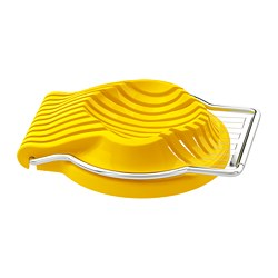 SLÄT - Egg slicer, yellow