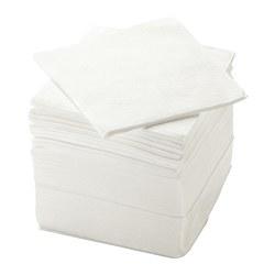 STORÄTARE - Paper napkin, white