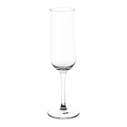 HEDERLIG gelas champagne