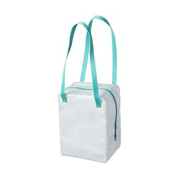 IKEA 365+ - Lunch bag, white/turquoise