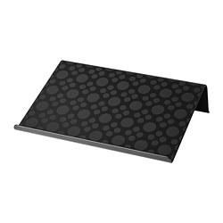 BRÄDA - Alas laptop, hitam, 42x31 cm