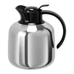 SLUKA - Vacuum flask, stainless steel
