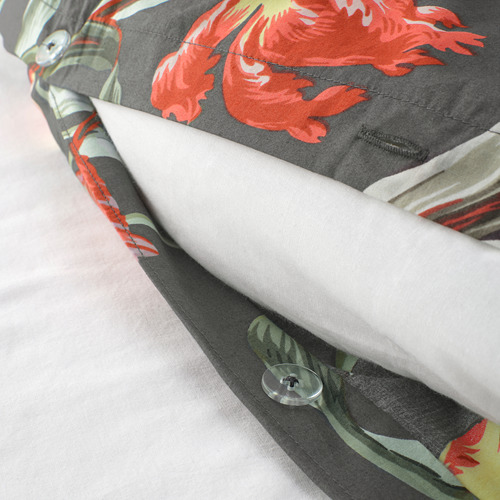 ÅLANDSROT quilt cover and pillowcase