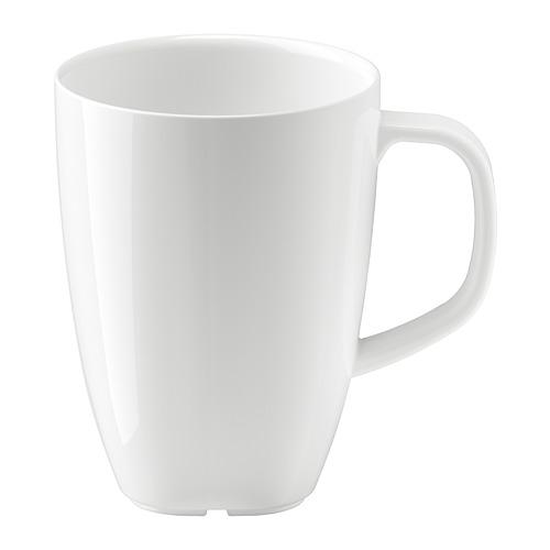 VÄRDERA - mug, putih, 30 cl | IKEA Indonesia - PE729501_S4