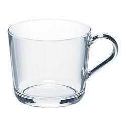 IKEA 365+ - Mug, clear glass