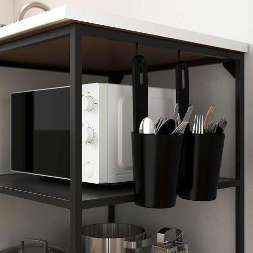 ENHET - pengait, antrasit, 6x24 mm | IKEA Indonesia - PE783580_S4