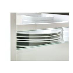 MAXIMERA - Tambahan sisi untuk laci, medium, kaca