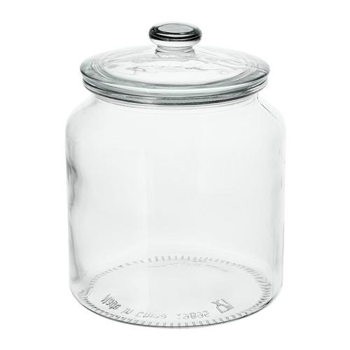 VARDAGEN jar with lid
